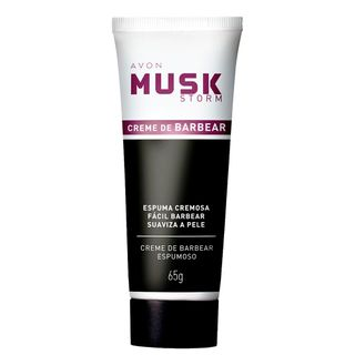 Creme de Barbear Musk Storm - 65 G