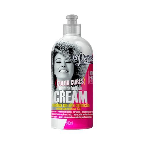 Creme de Pentear Beauty Color Soul Power Color Curls High Definition Cream 500ml