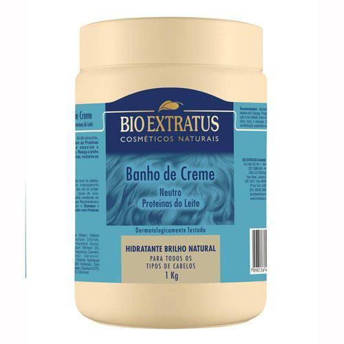 Creme de Tratamento Bio Extratus Nutri Proteínas do Leite 1000g
