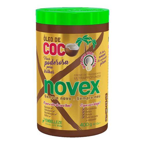 Creme de Tratamento Novex Óleo de Coco 400g