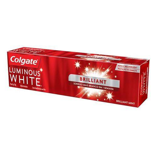 Creme Dental Colgate Luminous 50g White Brilliant