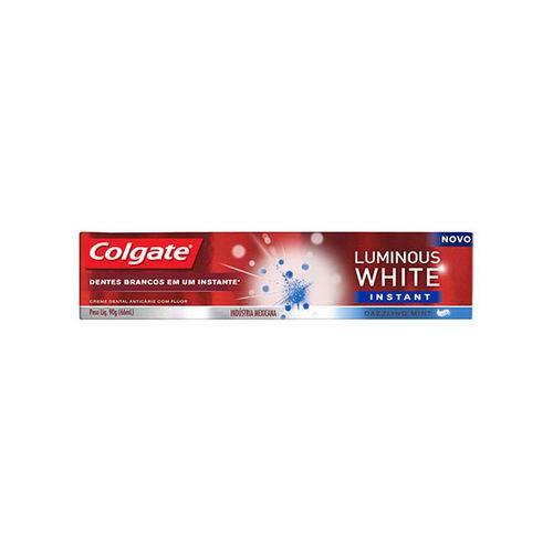 Creme Dental Colgate Luminous Instant 90 G