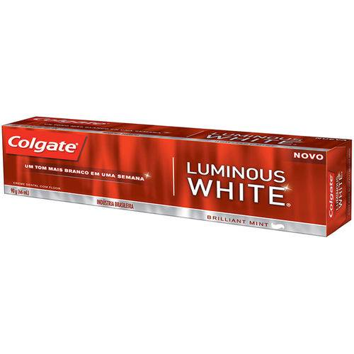 Creme Dental Colgate Luminous White 90 G