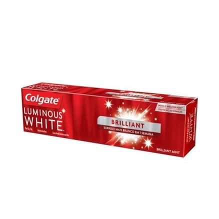 Creme Dental Colgate Luminous White Brillant 50g