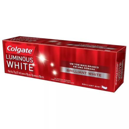 Creme Dental Colgate Luminous White Brilliant White 70g