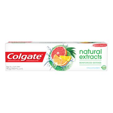 Creme Dental Colgate Natural Extracts 90g