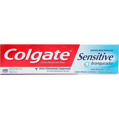 Creme Dental Colgate Sensitive Branq 100g Cj. C/ 12 Un.