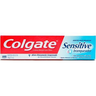 Creme Dental Colgate Sensitive Branq 100g
