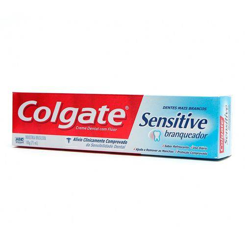 Creme Dental Colgate Sensitive Branqueador 100g