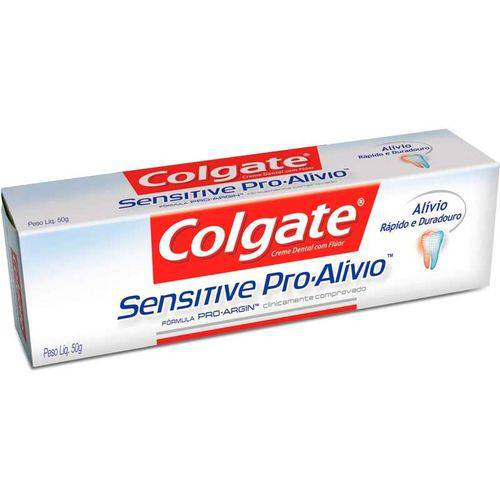 Creme Dental Colgate Sensitive Pro Alívio 110g