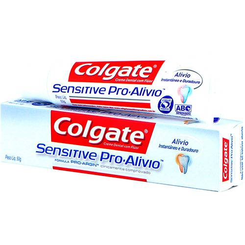 Creme Dental Colgate Sensitive Pro Alívio 50G