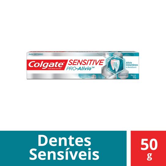 Creme Dental Colgate Sensitive Pró Alívio 50g
