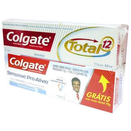 Creme Dental Colgate Sensitive Pro Alivio 90g