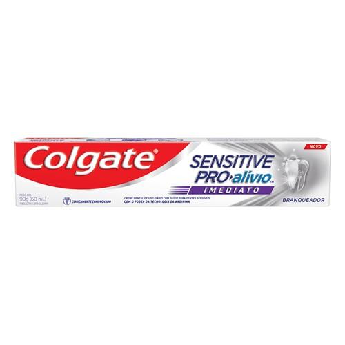 Creme Dental Colgate Sensitive Pro-Alívio Imediato Branqueador 90g
