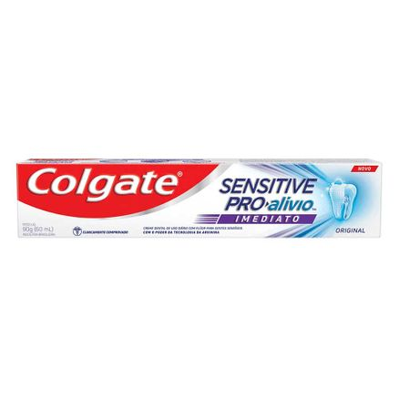 Creme Dental Colgate Sensitive Pro-Alívio Imediato Original 90g