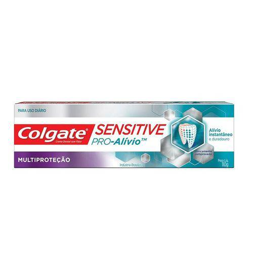 Creme Dental Colgate Sensitive Pró-alívio Multiproteção 110g