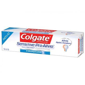 Creme Dental Colgate Sensitive Pro-Alívio Real White 50g