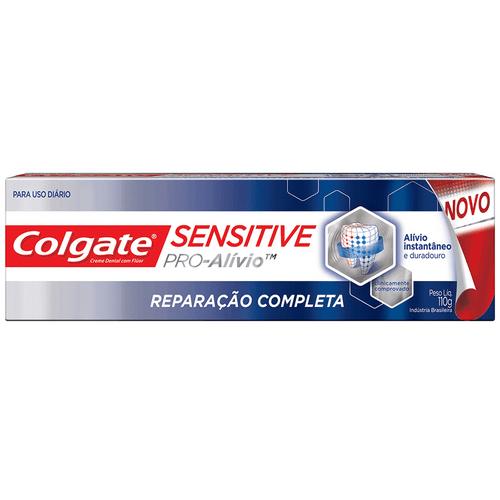 Creme Dental Colgate Sensitive Pro-Alívio Reparação Completa 110g