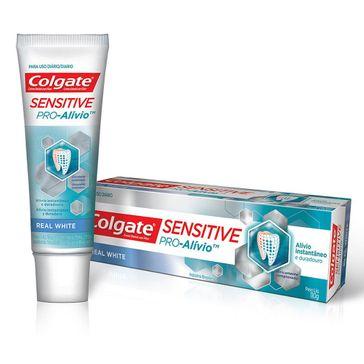 Creme Dental Colgate Sensitive Pró Alívio White 110g