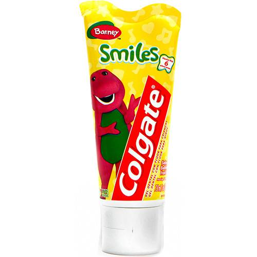 Creme Dental Colgate Smiles Barney Gel 100G