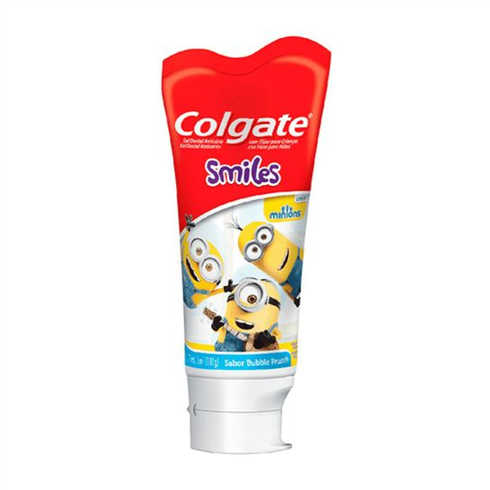 Creme Dental Colgate Smiles Minions Gel Infantil 100g
