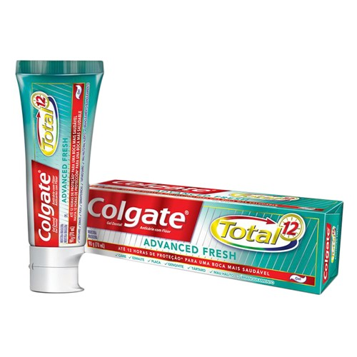 Creme Dental Colgate Total 12 Advanced Fresh 90g Creme Dental Colgate Total 12 Advanced Fresh Gel 90g