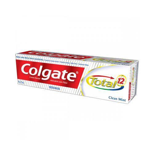 Creme Dental Colgate Total 12 Clean Mint - 90g