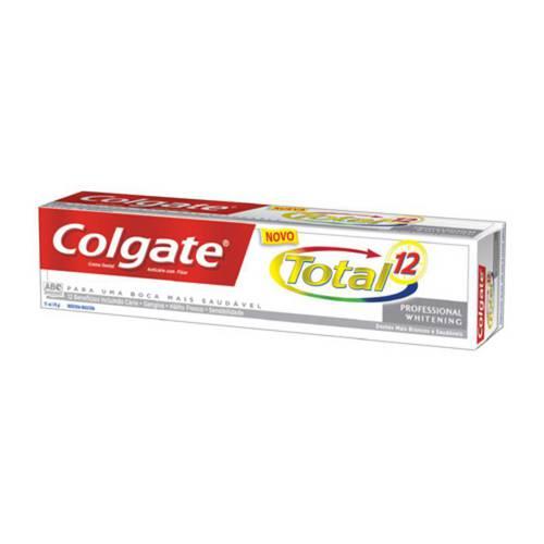 Creme Dental Colgate Total 12 Professional Whitening com 70 Gramas