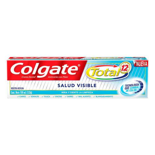 Creme Dental Colgate Total 12 Saúde Visível 133g