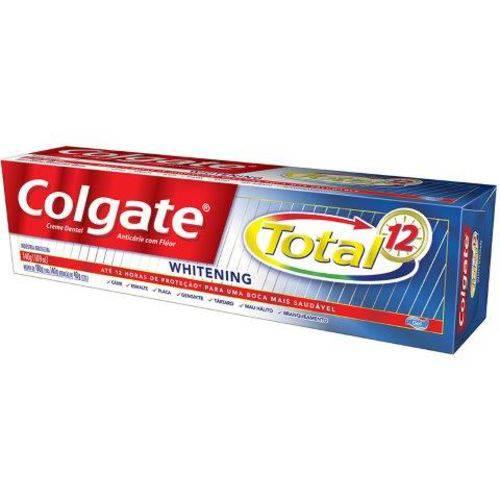Creme Dental Colgate Total-12 Whitening 140 G