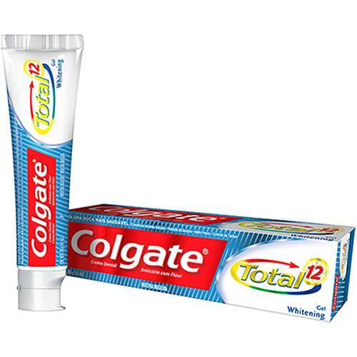 Creme Dental Colgate Total 12 Whitening Gel 180G