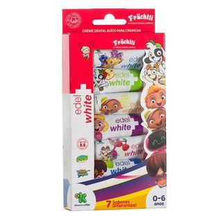 Creme Dental Edel White - Fruchtli Kids 7x 9,4ml