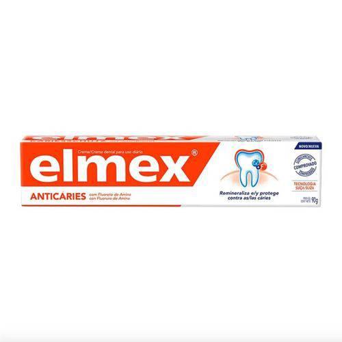 Creme Dental Elmex Anticáries 110g