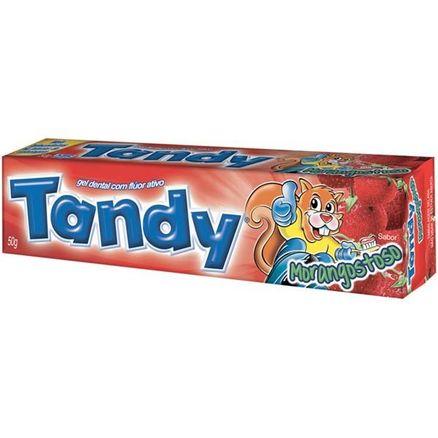 Creme Dental Gel Tandy Morango 50g