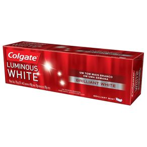 Creme Dental Luminous White Colgate 70g