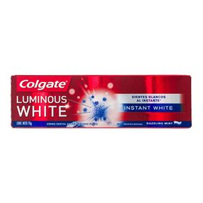 Creme Dental Luminous White Instant Colgate 70g