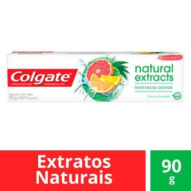 Creme Dental Natural Extracts Defesa Reforçada Colgate 90g