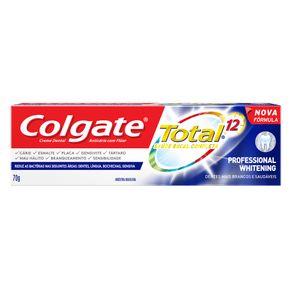 Creme Dental Professional Whitening Colgate 70g