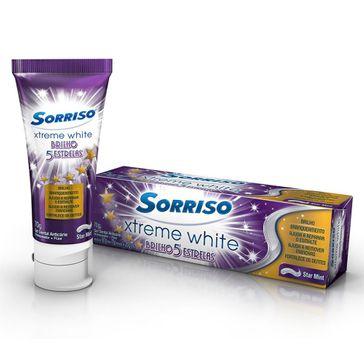 Creme Dental Sorriso Xtreme White 5 Estrelas Gel 70g