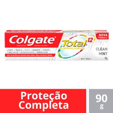 Creme Dental Total 12 Clean Mint Colgate 90g