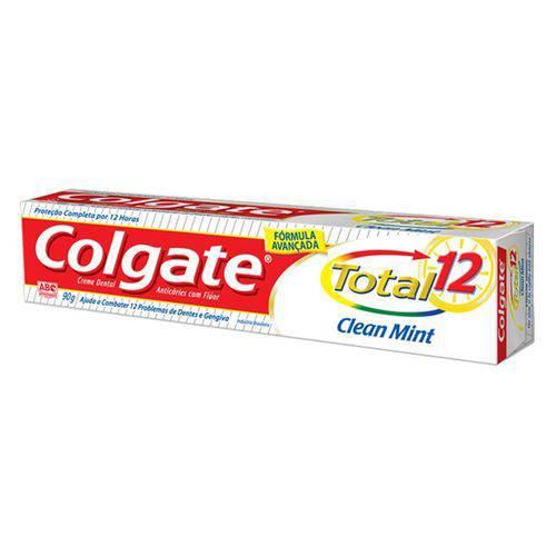Creme Dental Total 12 Clen Minit 90g Unid - Colgate