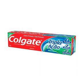 Creme Dental Tripla Ação Menta Original Colgate 180g