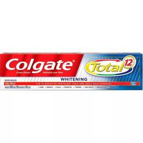 Creme Dental Whitening Colgate Total 12 140g