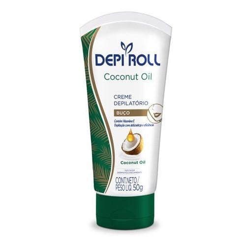 Creme Depilatório Buço Coconut Oil 50g