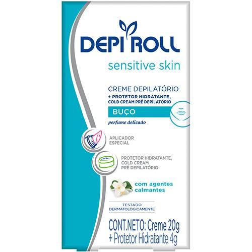 Creme Depilatório Depi Roll Buço Sensitive 20g