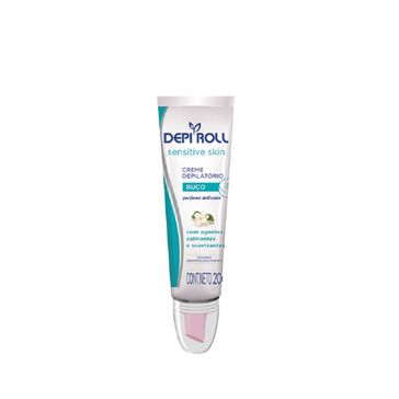 Creme Depilatorio Depi Roll para o Buco Sensitive Skin 20g
