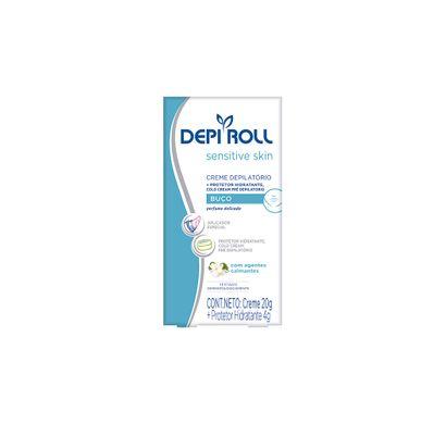 Creme Depilatório para Buço Sensitive Skin 20g - Depi Roll