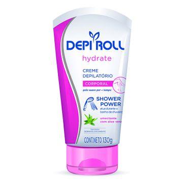 Creme Depilatório para Corpo Depi Roll Hydrate Shower Power 130g