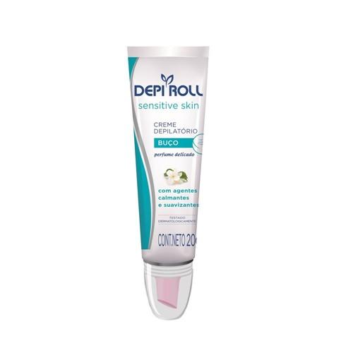 Creme DepiRoll Depilatório para Buço Aloe Vera Sensitive 20g