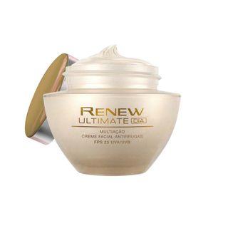Creme Facial Antirrugas Renew Ultimate Multiação   Dia Creme Facial Antirrugas Renew Ultimate Multiação - Dia